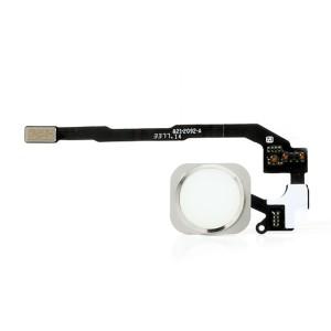 iPhone 5S - Botão Home Cabo Flexível Branco
