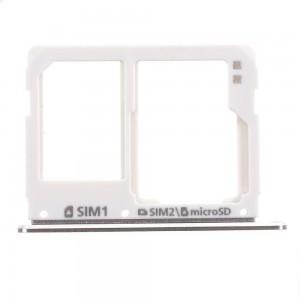 Samsung Galaxy A310 A510 A710 - SIM Card and SD Tray Holder White