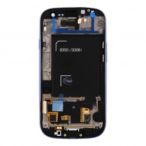 Samsung Galaxy S3 Neo i9301 - LCD Frame Blue