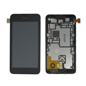Nokia Lumia 530 - Full Front LCD Digitizer Black