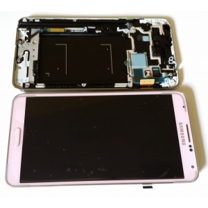 Samsung Note 3 N9005 - Full Front LCD Digitizer With Frame Rose