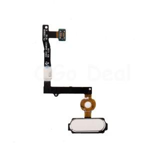 Samsung Galaxy S6 Edge Plus G928F - Home Button Flex Cable White