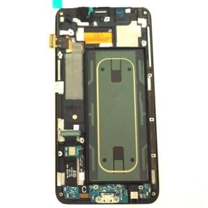 Samsung Galaxy S6 Edge Plus G928F - Middle Frame Full Assembled Black