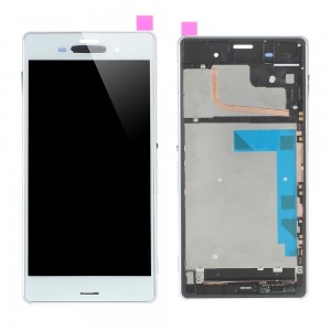 Sony Xperia Z3 D6603 D6653 - Full Front LCD Digitizer with frame White