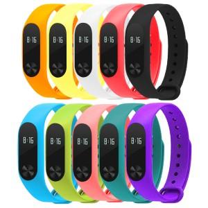 Silicone Wrist Band for Xiaomi Mi Band 2