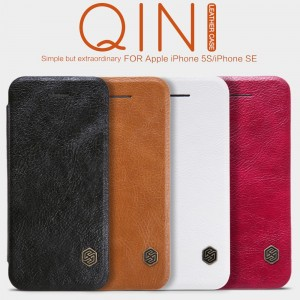 iPhone 5 / 5S / SE - NILLKIN Qin Leather Case