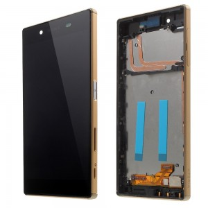 Sony Xperia Z5 E6603 E6653 - Full front LCD Digitizer With Frame Gold