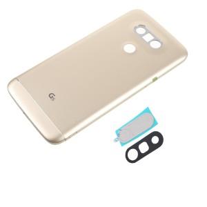 LG G5 - Contra capa totalmente montada com lente de câmera Gold