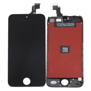 iPhone 5C - LCD Digitizer (original remaded)   Black