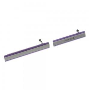Sony Xperia Z2 D6503/D6502 - 2 Pieces Plug In Set Purple