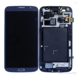 Samsung Galaxy Mega 6.3 I9200 - Full Front LCD Digitizer With Frame Blue