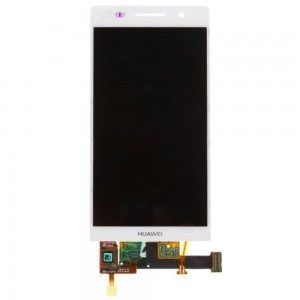 Huawei Ascend P6 - LCD Display Touch Screen Branco