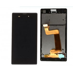 Sony Xperia T3 D5102 D5103 D5106 - Full Front LCD Digitizer With Frame Black