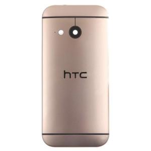 HTC One M8 Mini - Contra Capa Dourada