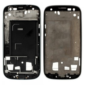 Samsung Galaxy S3 I9300 - Moldura LCD Cinza
