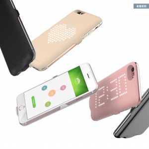 Battery Charger Case with Smart LED Light for iPhone 6/6S
