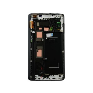 Samsung Galaxy Note Edge N915F - LCD Frame Alu Black