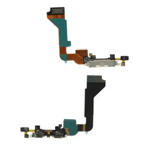 iPhone 4G - Conector de encaixe de carregamento  Flex Branco