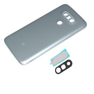 LG G5 - Contra capa totalmente montada com lente de câmera Prata