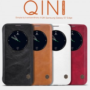 Samsung Galaxy S7 Edge G935 - NILLKIN Qin Leather Case