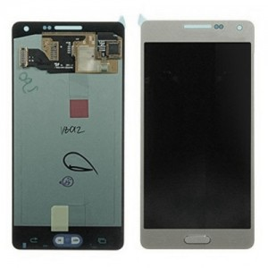 Samsung Galaxy S5 Neo G903F - Full front LCD Digitizer Silver < Service Pack >