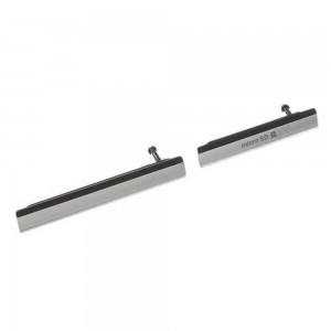 Sony Xperia Z2 D6503/D6502 - 2 Pieces Plug In Set Black