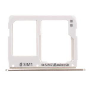 Samsung Galaxy A310 A510 A710 - SIM Card and SD Tray Holder Gold