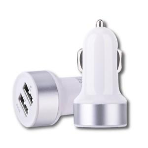 DEVIA - Smart Dual USB Ports 2.4A Car Charger