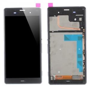 Sony Xperia Z3 D6603 D6653 - Full Front LCD Digitizer with frame Black