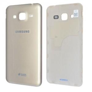 Samsung Galaxy J3 2016 J320F - Battery Cover Gold