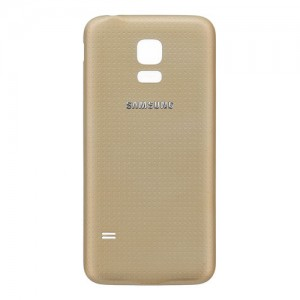 Samsung Galaxy S5 Mini G800F - Battery Cover Gold