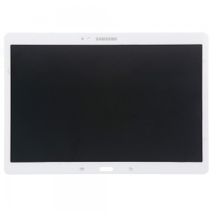 Samsung Galaxy Tab S 10.5 SM-T800 T801 T805 LTE - Full Front LCD Digitizer White With LCD Frame  (Service Pack)