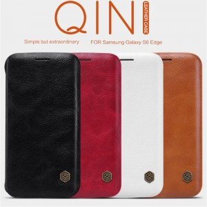 Samsung Galaxy S6 Edge G925 - NILLKIN Qin Leather Case