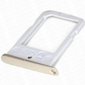 Samsung Galaxy S6 Edge G925 - SIM Card Tray Holder Gold