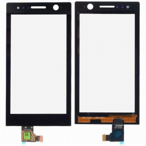 Sony Xperia U ST25i - Vidro Touch Screen Preto