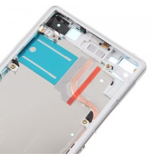 Sony Xperia Z2 D6503/D6502 - Middle Frame White