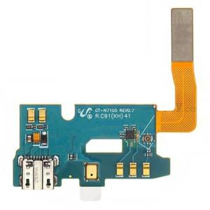 Samsung Note 2 N7105 - Conector de Carregamento Flex