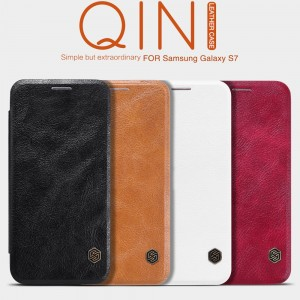 Samsung Galaxy S7 G930 - NILLKIN Qin Leather Case