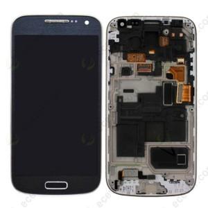 Samsung Galaxy S4 Mini I9195 - Full Front LCD Digitizer With Frame Black ( Recondicionado )