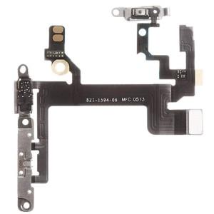 iPhone 5S - Cabo Power + Volume Flex com placas