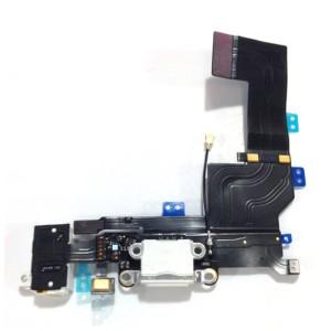 iPhone 5S - Conector de encaixe de carregamento Flex branco