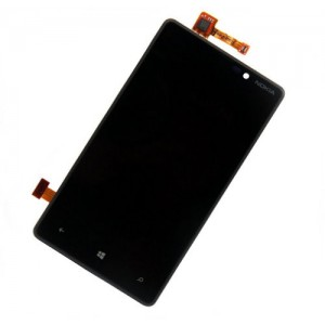 Nokia Lumia 820  - Full Front LCD Digitizer Black