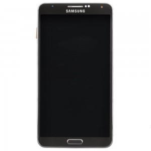 Samsung Note 3 N9005 - Full Front LCD Digitizer with Frame Grey