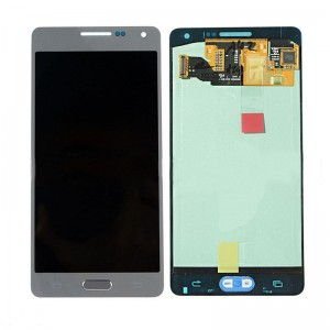 Samsung Galaxy A5 A500F - Full front LCD Digitizer Silver < Service Pack >