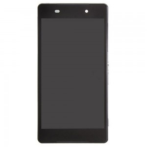 Sony Xperia Z2  D6503/D6502 - Full Front LCD Digitizer OEM With Frame Black