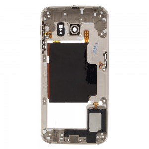 Samsung Galaxy S6 Edge Plus G928F - Middle Frame Full Assembled White