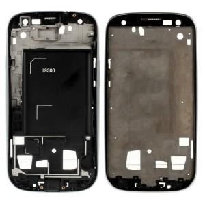 Samsung Galaxy S3 I9300 - Moldura LCD preta