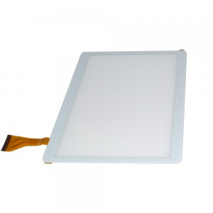 Universal 10.6 inch 50 Pins DH-1069A4-PG-FPC264 / MJK-0419-FPC - Vidro Touch Screen Branco