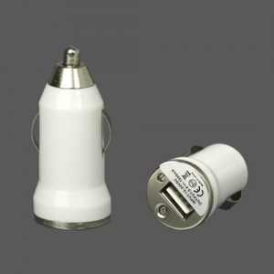 Car Adapter Simple   White