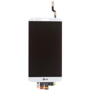 LG Optimus G2 D802 - Full Front LCD Digitizer White